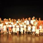 The award ceremony on Urdu, Turkey.