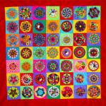 """""""Children's Mandala Mural for Peace"""""""