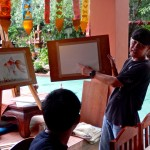 DSCN0580 (Watercolor Art Workshop at Joy's House.  Chiang Mai, Thailand 2015)