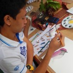 DSCN0584 (Watercolor Art Workshop at Joy's House.  Chiang Mai, Thailand 2015)
