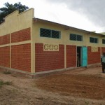 Exterior of the Kindiri School house in Chad (GLOCAP Builds a Schoolhouse in Kindiri, Chad)