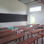 Interior of the Kindiri School house in Chad