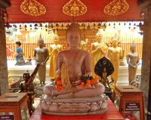 a Buddhist shrine at Doi Suthep