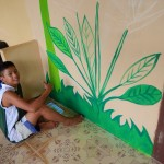 DSCN0560 (Creating a Mural at Children's Shelter Foundation. Chiang Mai, Thailand.  2015)