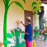 DSCN0612 (Creating a Mural at Children's Shelter Foundation. Chiang Mai, Thailand.  2015)