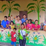 DSCN0636 (Creating a Mural at Children's Shelter Foundation. Chiang Mai, Thailand.  2015)