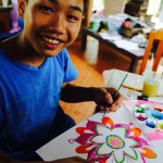 "Phoom (""Dream Stones"" Art Workshop with Children's Shelter Foundation. Chiang Mai, Thailand 2016)"
