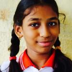Naina 9. Gurunanak School, Mumbai, India. 2016