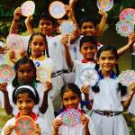 Gurunanak School, Mumbai, India. 2016