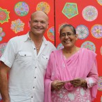 Timothy Lomas (GLOCAP President) with Ms. Kaur (School Principal, Guru Nanak School)